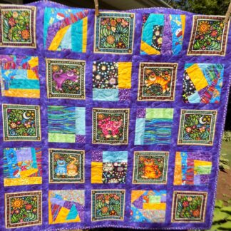 45 x 45 Colorful Cats