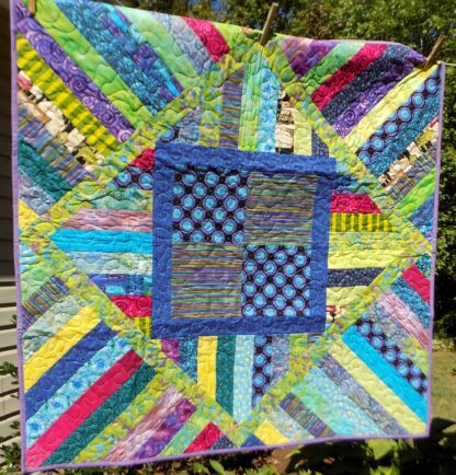 43 x 43 Table topper quilt